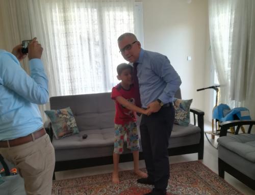 2 yılı aşkın süredir vakfımız tarafından koruma altına alınan evladımız Ali İhsan Furkan Canan Serebral Palsi ve Epilepsi hastalıklarıyla boğuşmaya devam ediyor…