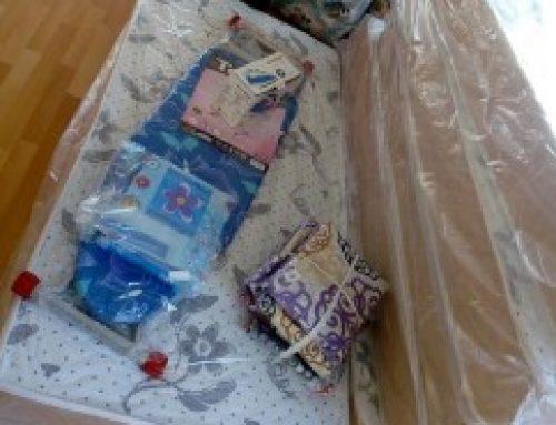 İzmit'te Türkmenistanlı kız çocuklarımızın kaldığı yatılı kuran kursuna ayni yardım yapıldı