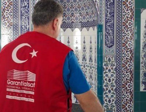 Tekirdağ Şarköy'e bağlı Hocaali köyüne 180 m2'lik Yeni Halı Yaptırıldı