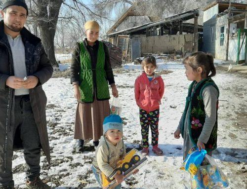 Kırgızistan daki 6 Yetime Yeni Bir Ev Satın Alarak Eşyaları ile Birlikte Teslim Ettik