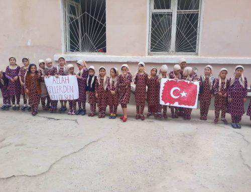 Tacikistanda Yetimhane Çalışmaları