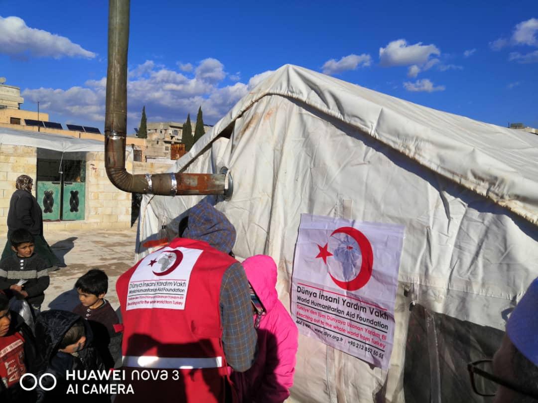 İdlip için Mont ve Bot kampanyası